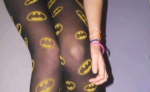 NO WAY!!!!! Gotta find these...no idea when i would wear them but holy crap!!! BATMAN TIGHTS!!