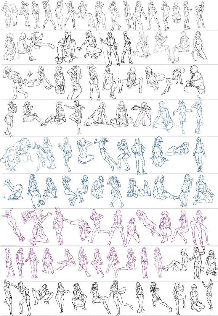"tutorials to save your drawings ""anatoref "" Gesture Studies, by ...에 대한 갤러리"