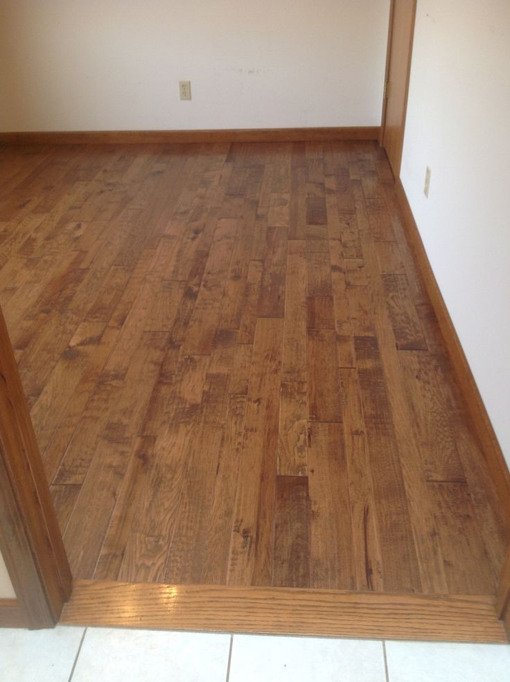 RFW Floor Covering in Hamburg NY A Beautiful Hardwood for an office.