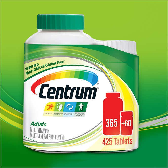 Centrum 425 Tablets Men Women Adults Under 50 Multi Vitamin Mineral 425 Tablets Centrum
