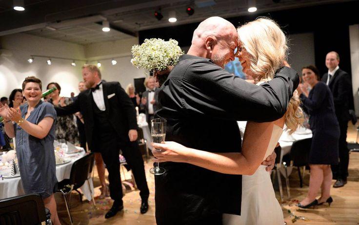 Bryllupsfest for alvorlig kreftsyke Åge - Aftenbladet.no