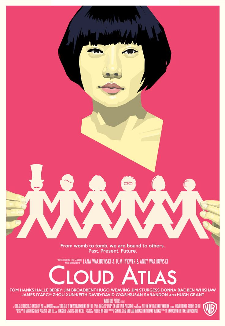 Cloud Atlas, one of my favourite books and I think now also one of my favourite films too :o)