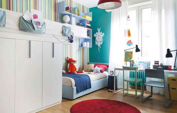 54 migliori immagini le case di casafacile su pinterest camere per bambini piccoli spazi e adele - Cameretta per due bambini ...