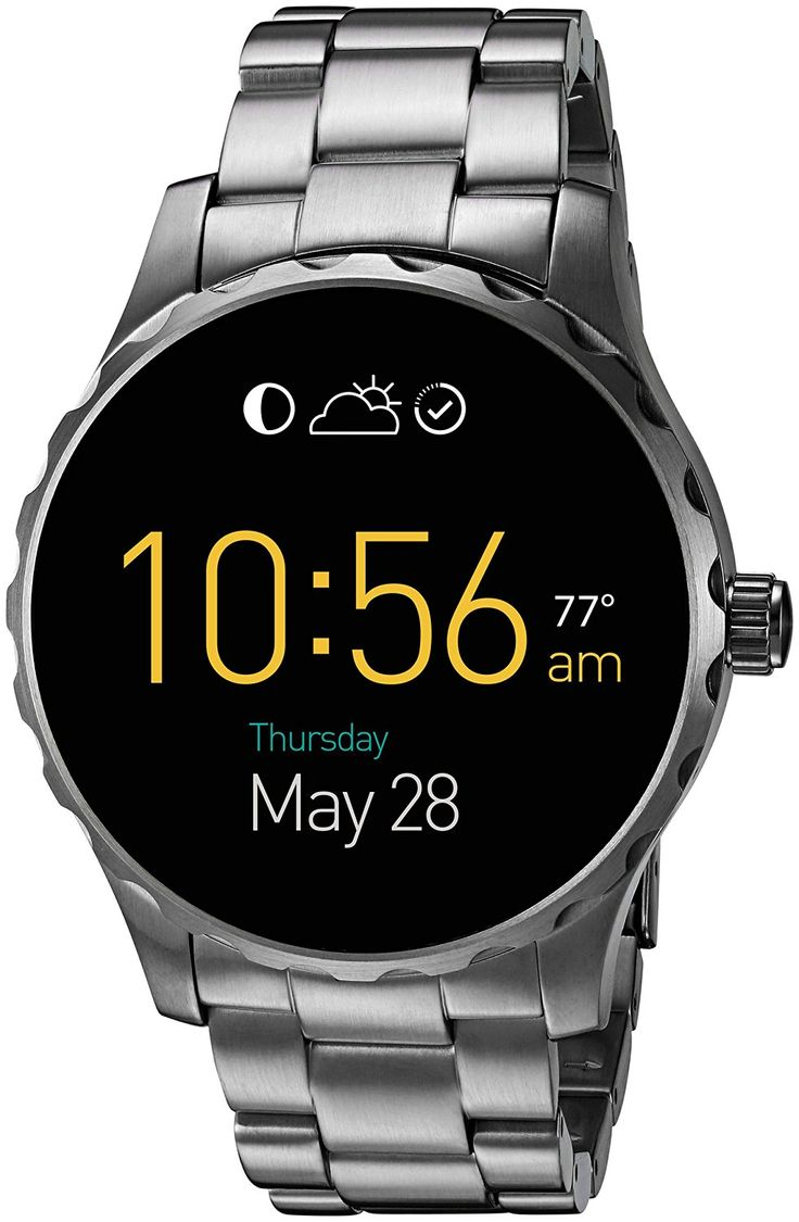 Fossil Q Marshal Gunmetal Stainless Steel Smartwatch Review. #Watches #Fossil #WatchReviews