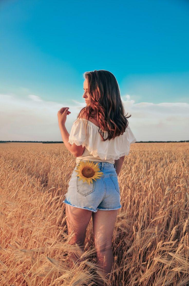 разных идеи для фото в поле летом найдено фотка