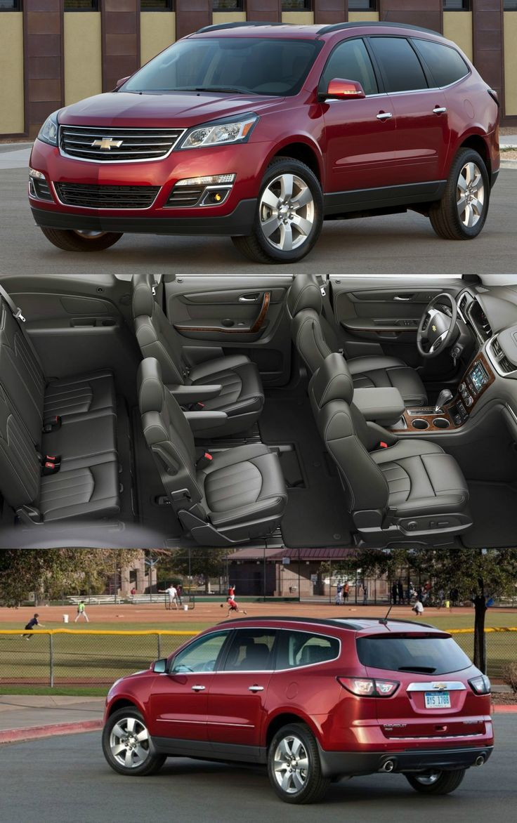 2017 Chevrolet Traverse LS with Extra Cargo Space