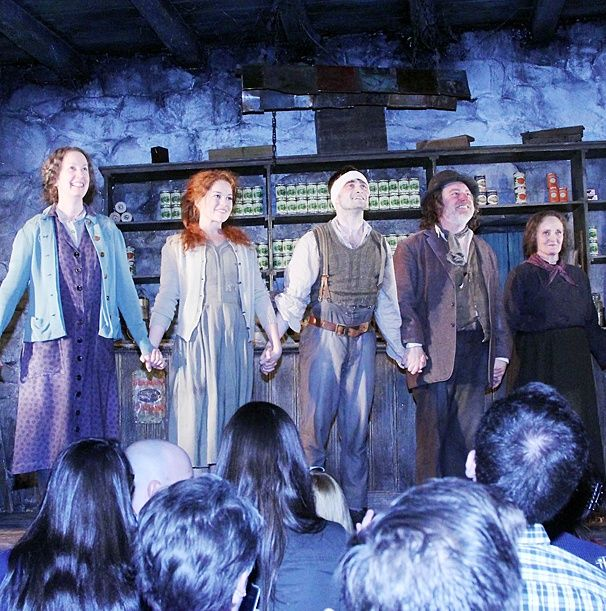 Bravo, Billy! Daniel Radcliffe & the Cast of The Cripple of Inishmaan Take Their First Broadway Bows. 2014