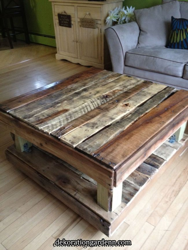 Coffee Table Made From Paint Pallets Pallets In 2019 Pinterest Diy Pallet Furniture Diy Pallet Furniture Coffee Table Made From Pallets Palette Furniture