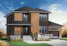 Plan de maison no. W3875 de dessinsdrummond.com