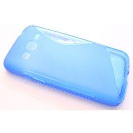 Galaxy Express 2 sininen silikonisuojus.
