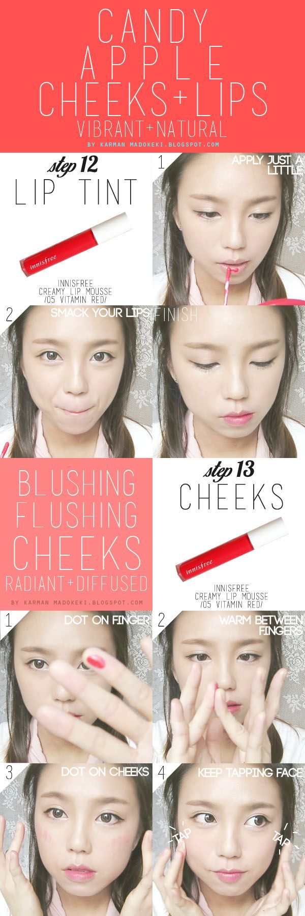 How To : Korean Ulzzang/Uljjang Make Up (Ft. Aegyo Sal) | MADOKEKI makeup reviews, tutorials, and beauty
