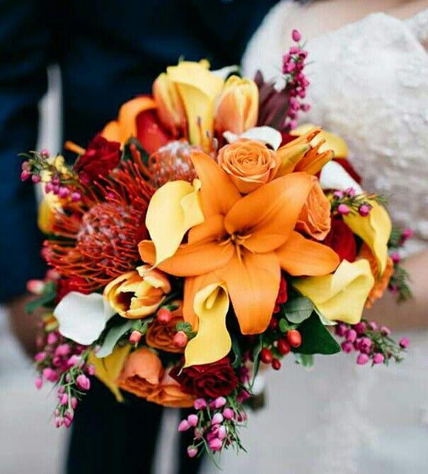 Wedding bouquet for Christina.