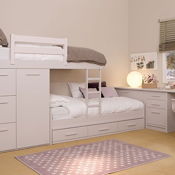 Las 25 mejores ideas sobre habitaciones infantiles en - Dormitorios juveniles de nina ...