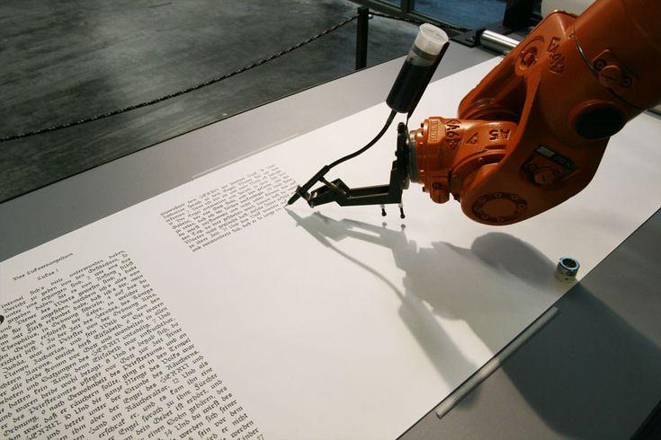 bios [bible] in the exhibition 'The Algorithmic Revolution'  ZKM   Media Museum, Karlsruhe