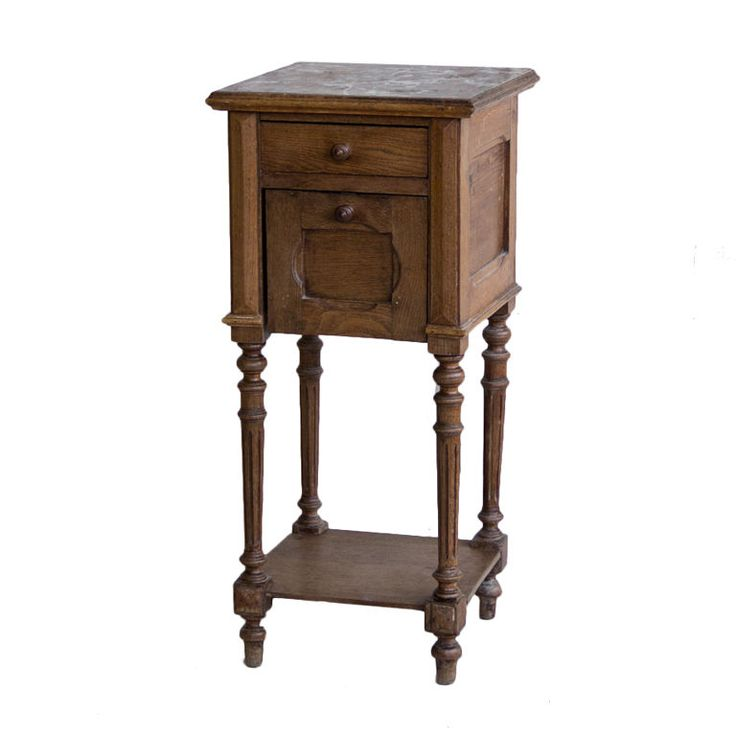 1stdibs | Antique French Bedside Table