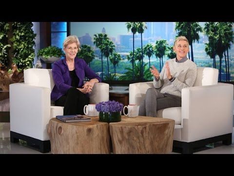 Senator Elizabeth Warren Discusses the Election with Ellen