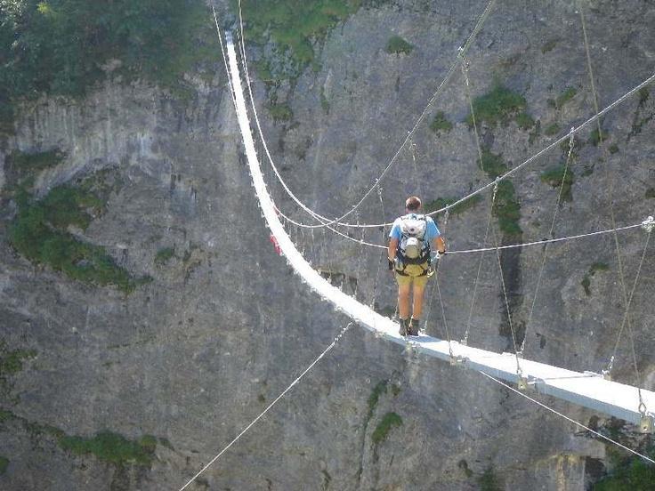 Klettersteig Mürren - Gimmelwald - Klettersteige