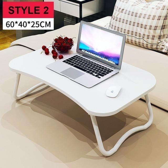 Laptop Bed Table With Simple Dormitory Lazy Desk On Bed Desk Deskable Foldable Multi Purpose Laptop Table For Bed Folding Computer Desk Computer Desk