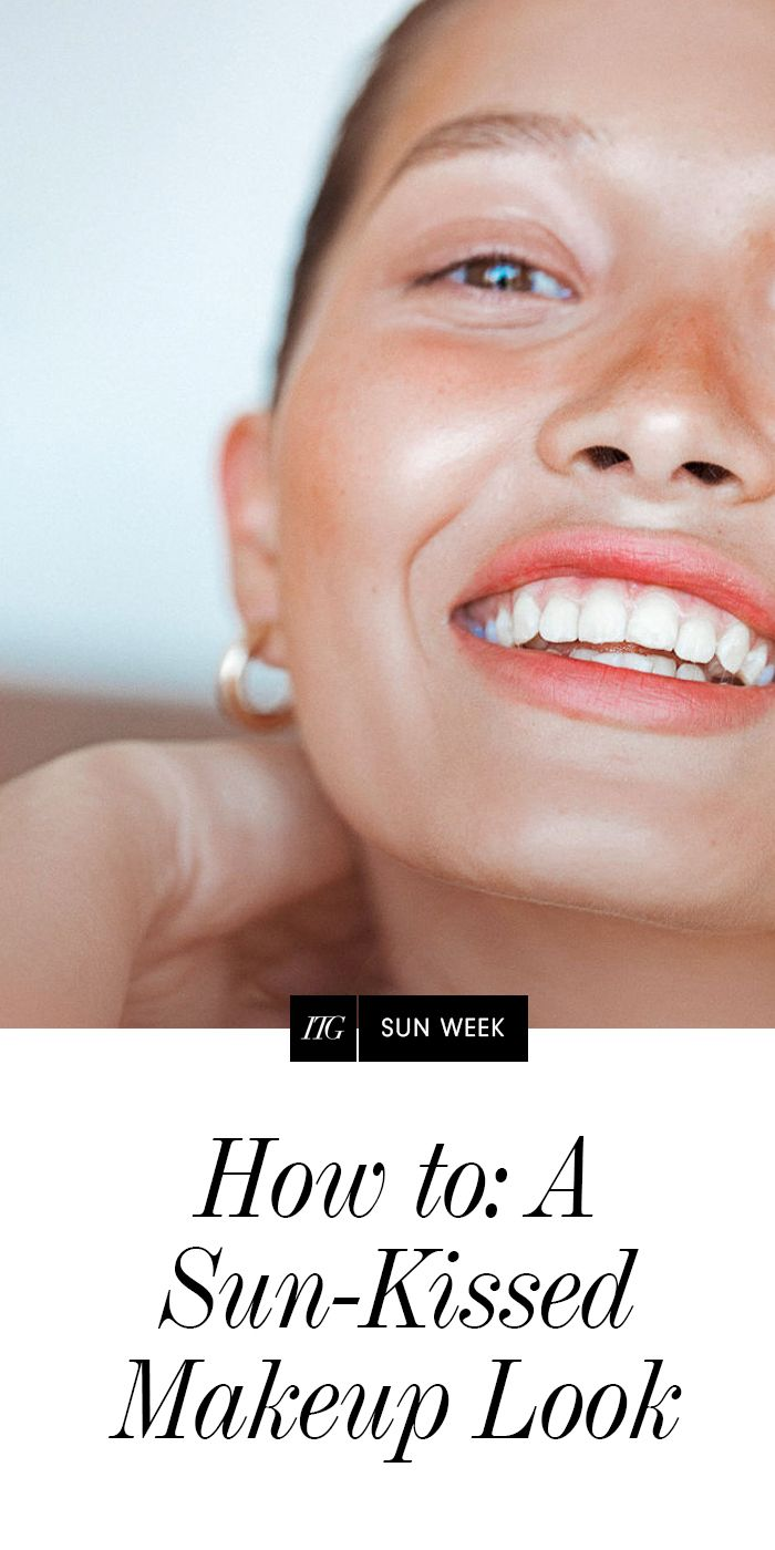 How to: A Sun-Kissed Makeup Look