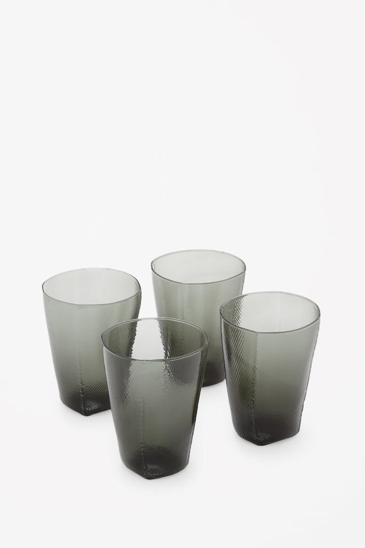 COS | Irregular tumbler glasses