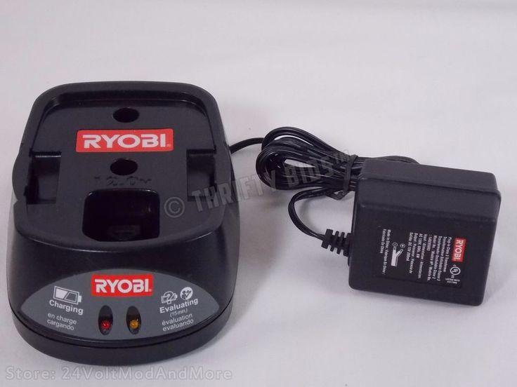 Genuine Ryobi 140295003 12V 12.0V 12 Volt NiCd Battery Charger 130269003 Tested #Ryobi