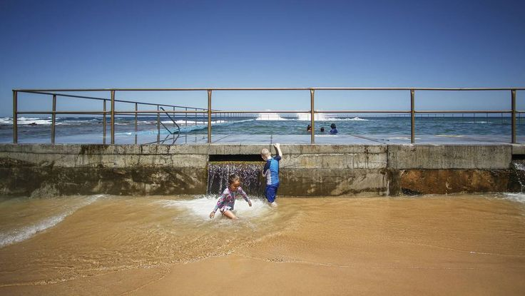 How's the serenity in Bulli rock pool?