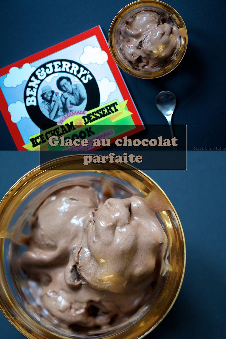 Glace au chocolat parfaite   Cuisine en Scène, le blog cuisine de Lucie Barthélémy - CotéMaison.fr