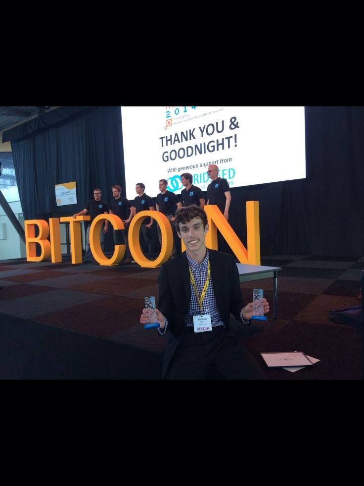 Picked up some new hardware in Amsterdam at the First Annual Blockchain Awards  1. The Bitcoin Society - Most Impactful Charity   2. Matthew Kenahan - Bitcoin Champion  ARTICLE: http://ow.ly/3kANoX