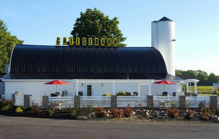 If you love exploring little-known, fun places in Ohio, then you need to make a trip to Grandpa's Cheesebarn in Ashland, Ohio. It's the perfect stop.
