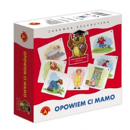 Opowiem Ci Mamo Zabawka Edukacyjna dla Dzieci od lat 3 polegająca na ułożeniu logicznej historyjki z kart.   Zabawka uczy rozumienia następstw czasowych i logicznego myślenia, doskonali umiejętności wypowiadania się i układania opowiadań, rozwija wyobraźnię i analizę wzrokową.  Sprawdźcie sami:)  http://www.niczchin.pl/zabawki-edukacyjne-dla-dzieci/2871-opowiem-ci-mamo-zabawka-edukacyjna.html  #opowiemcimamo #zabawkaedukacyjna #zabawki #niczchin #krakow