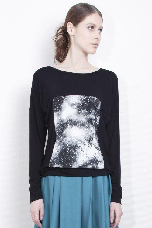 Lesel - Блуза Млечный путь-квадрат