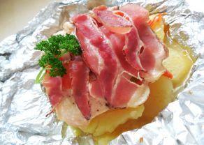 Fotografie článku: Recept na kuřecí překvapení v alobalu krok za krokem