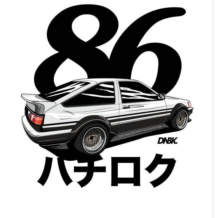 Hachi. Artwork and apparel available at Dirtynailsbloodyknuckles.com  Link in profile  #toyota #levin #trueno #toyotalevin #toyotatrueno #ae85 #ae86 #dorifto #jdmlegends #manga #anime #datsunshirt #truenoshirt #toyotashirt #jdm #jdmshirt #japanshirt #jdmapparel #automotiveapparel #automotiveart #illest #fatlace
