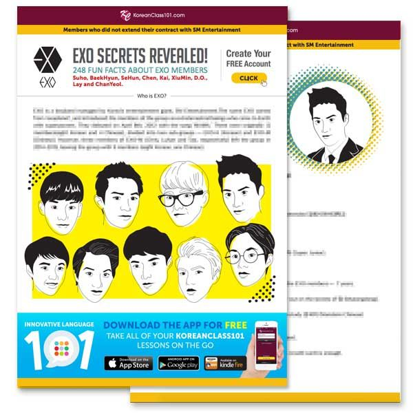 How To Learn Korean With K Pop Kpop Guide Koreanclass101 Learn Korean Korean Words Learning Korean Words