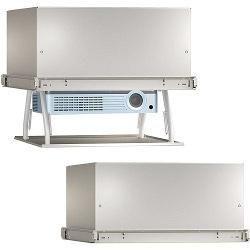 Chief SL220  — 239998 руб. —  Моторизированный лифт для проектора Chief SL220  - сделан из легкого авиационного алюминия  для удобства в обращении. Имеет низкий уровень шума и быстрое перемещение проектора. Управляется пультом ДУ. Тип: лифт для проектора Управление с помощью ИК пульта ДУ Цвет: белый Габариты в закрытом состоянии (мм): 592 x 592 x 293 Максимальные габариты проектора (мм): 241 x 419 x 469 Ход лифта (мм): 215 Вес проектора (кг): 13,61  отдельно необходимо докупить RSAUW…