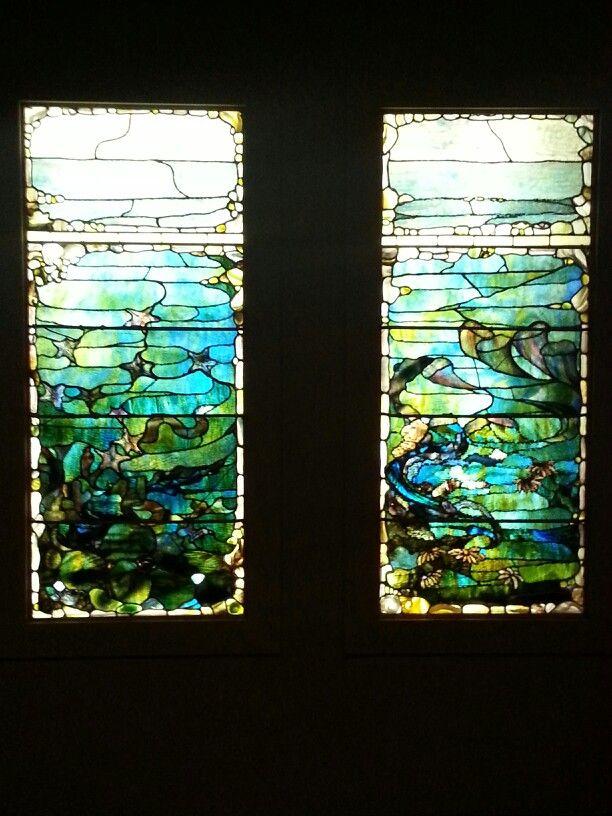 Tiffany windows at Dallas Museum of Art