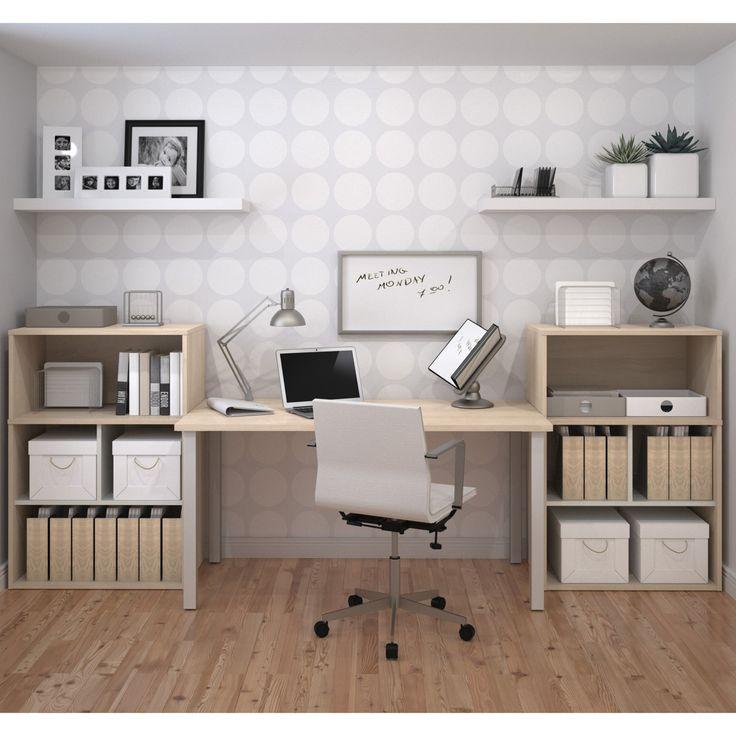 Bestar I3 Modern Executive Desk With Storage Unit   150881 38