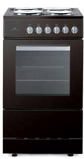 Newworld NWES50S Electric Cooker Free Standing Black