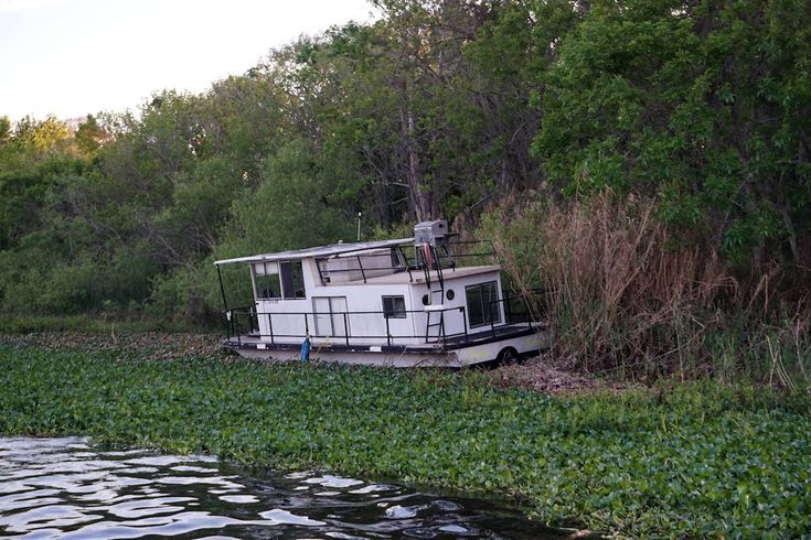 Old broken down boat on Lake Monroe. Sanford, Florida.  #oldboat #lakemonroe #broken #sanford  #debary #florida #lilsusieq #myfloridalife #weekendadventure #daytrip #photography #makingmemories #hiking