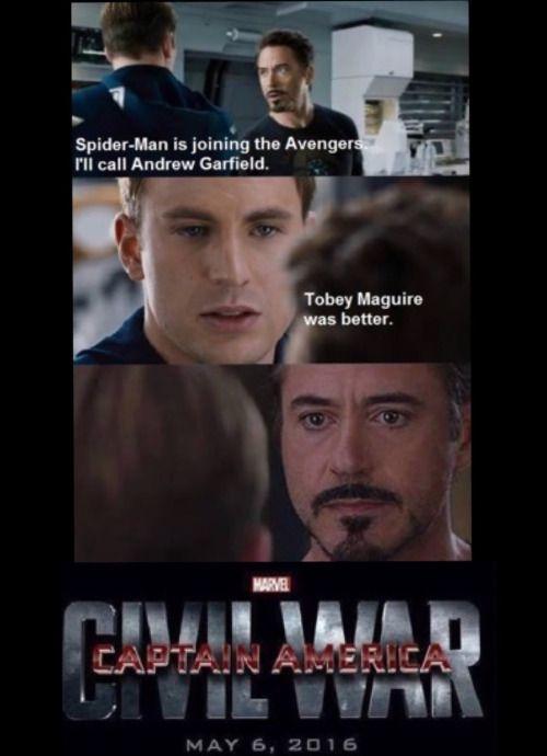 reasons for captain america civil war - Google Search
