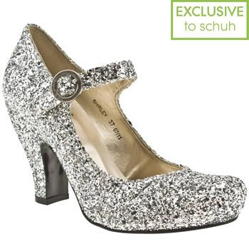 Red Or Dead Shirley Glitter Shoes