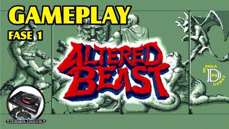 Altered Beast MEGA DRIVE Gameplay Fase 1