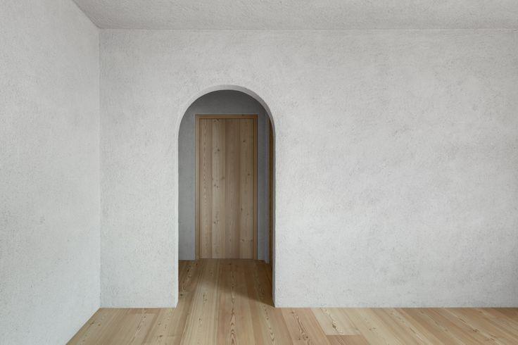 The natural style of Matteo Brioni. Private house, Bolzano.