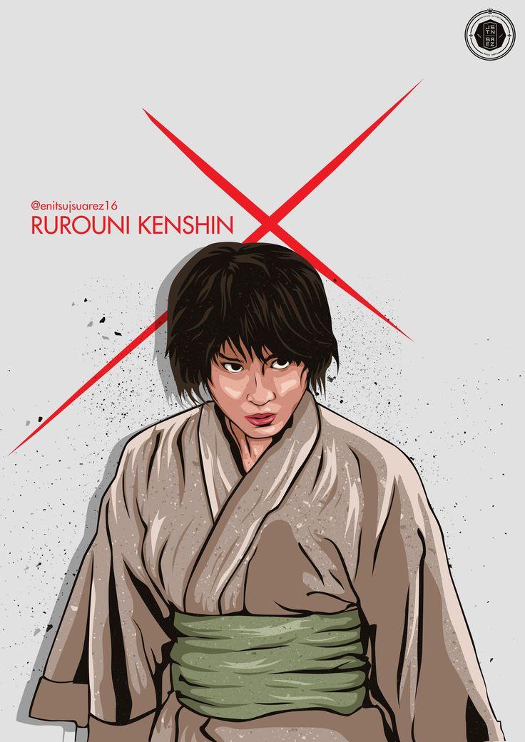 Rurouni Kenshin : Misao, Justine Suarez on ArtStation at https://www.artstation.com/artwork/rurouni-kenshin-misao