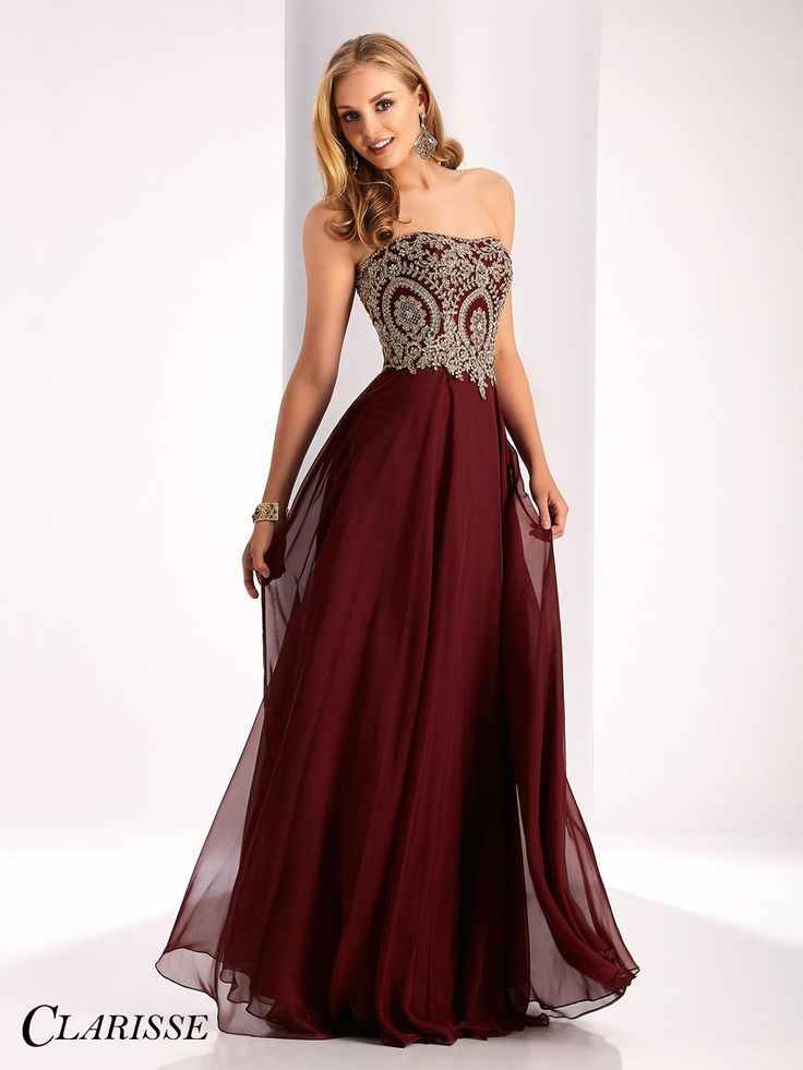 Long fitted prom dresses shere