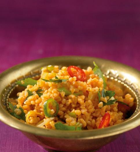 Bulgur-Salat - Leichte Küche: Sattmacher-Salate
