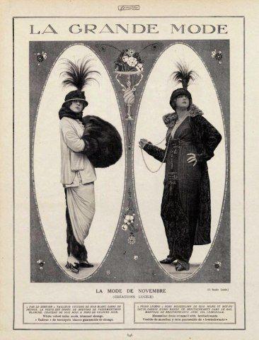 Lucile (Lady Duff Gordon) 1913 Fashion Photography | Hprints.com