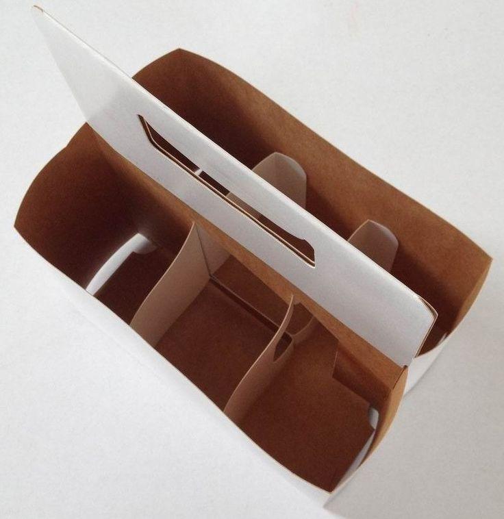6 paket bierflasche carrier box von karton verpackung bier tr ger unterschiedlicher gr e. Black Bedroom Furniture Sets. Home Design Ideas