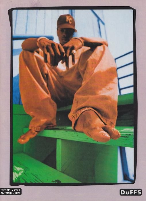 Duffs Shoes - Kareem Campbell Ad (1994)