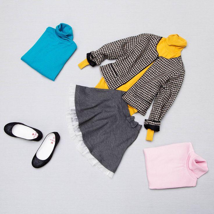 Renklerin birbirini güçlü çekimiyle bu uyumu sen de yakalabilirsin :) #body #babet #etek #bogazlı #ceket #pembe #sarı #gri #mavi #siyah #shoes #skirt #sweater #ceket #jacket #yellow #blue #pink #trend #instamood #instalove #instalike #colurs #trend #girls #young #fashion #instafashion